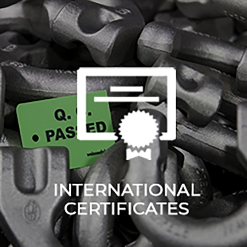 Kito Weissenfels-international certificates