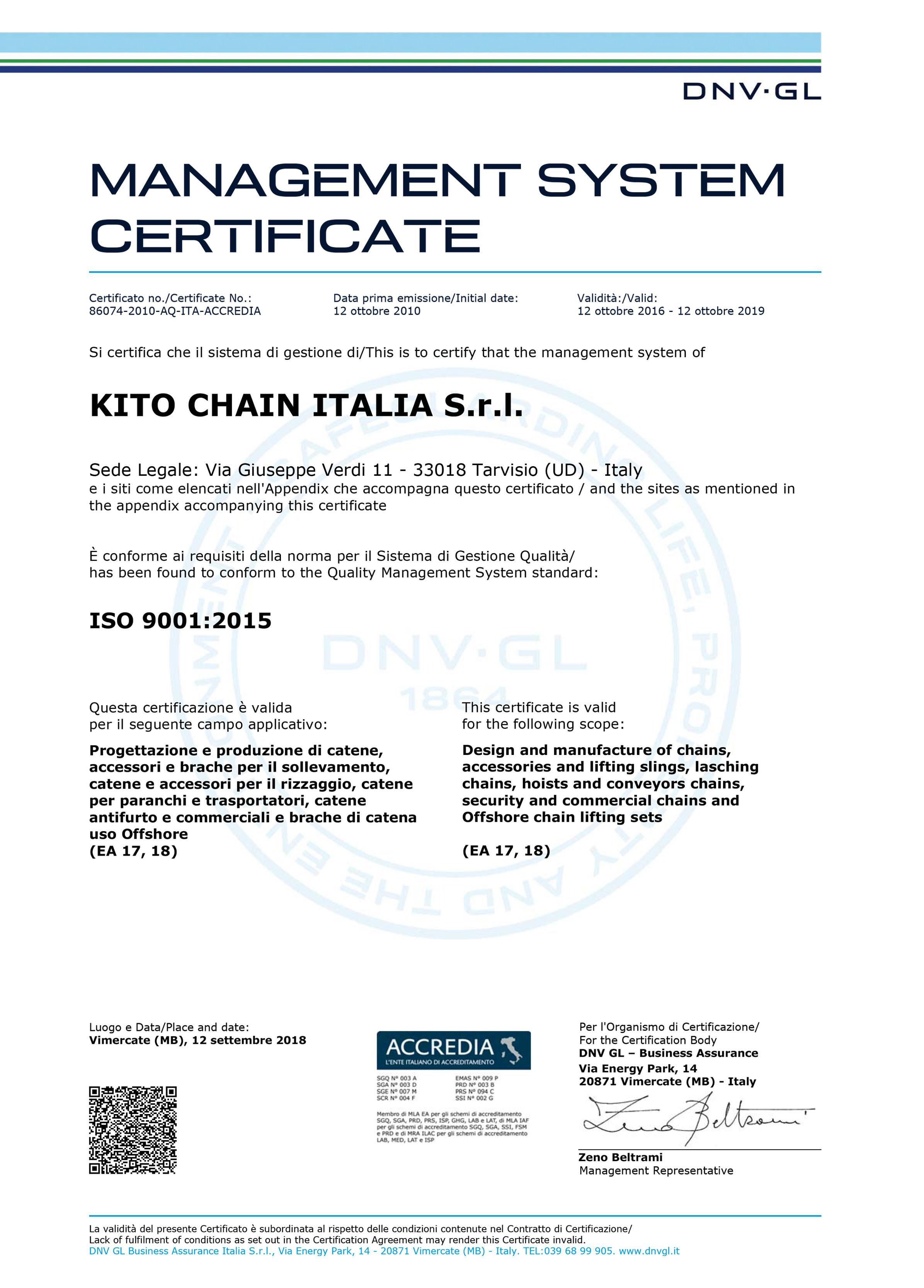 Certificato_KITO_CHAIN_ITALIA_S.r.l._-_ISO9001_2015